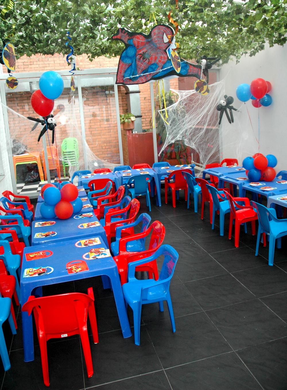 Beula decoraciones decoracion de eventos tematicos e infantiles Fiesta Spiderman