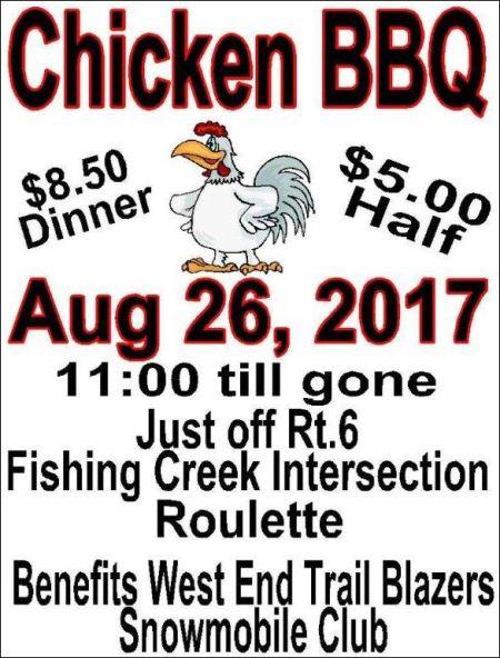 8-26 Chicken BBQ