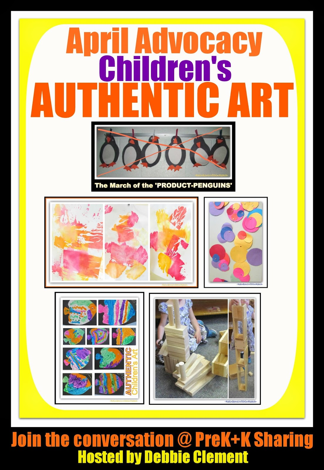 April Advocacy for Young Children: Week of the Young Child & More, Art AUTHENTICITY for Children