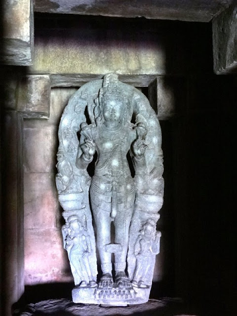 Places to see in Aihole - Surya Narayana - Sun God Idol