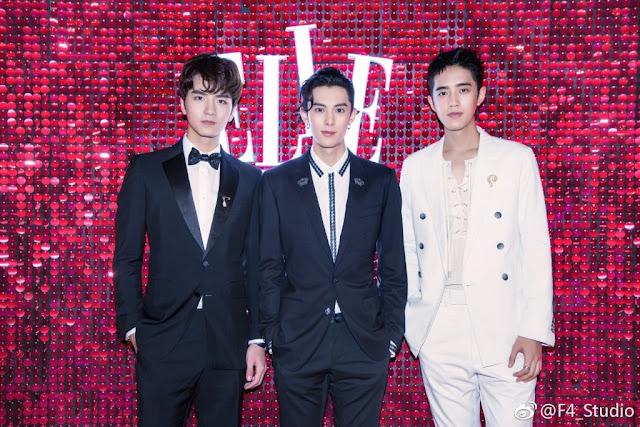 F4 Dylan Wang, Caesar Wu, Leon Leong