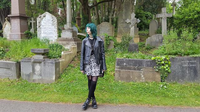 Killstar Pentagram Skirt Outfit, Nugoth, Goth