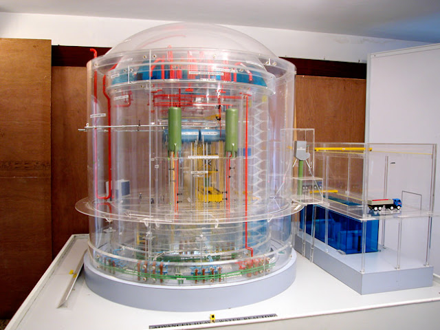 Image Attribute: Model of Advanced Heavy Water Reactor, the latest Indian design for a next-generation nuclear reactor / Source: Bhabha Atomic Research Centre (BARC), Department of Atomic Energy(DAE),Government of India