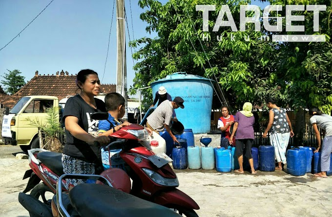 PHRI Peduli Sumbang 25 Tangki Air Bersih
