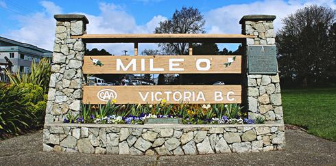 mile 0 trans canada highway victoria british columbia
