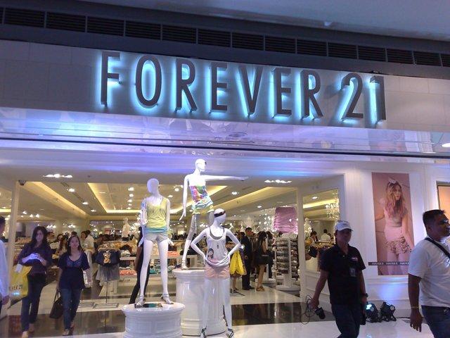 Loja Forever 21 em Orlando e Miami