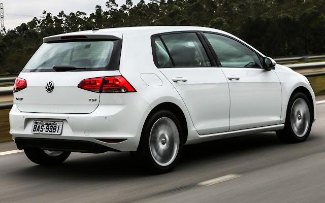 Volkswagen Golf: veículo mais seguro produzido no Brasil