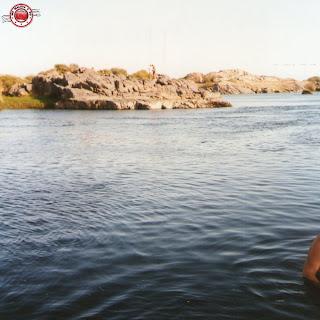 En una isla del Nilo, Egipto