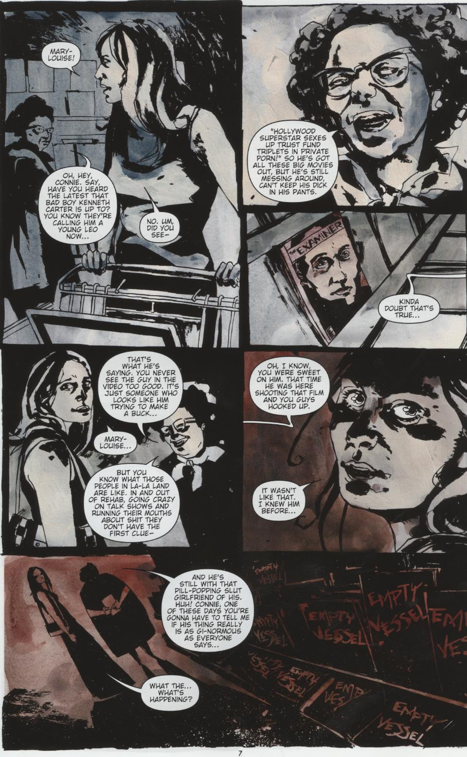 Read online Silent Hill: Dead/Alive comic -  Issue #1 - 7