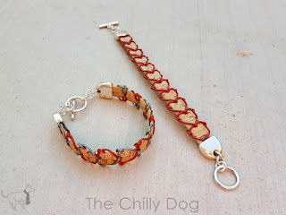 DIY Jewelry Tutorial: Lace together leather and cork cord to create a heart filled bracelet that you're sure to love.