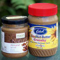 Almond Butter and Sunflower Butter