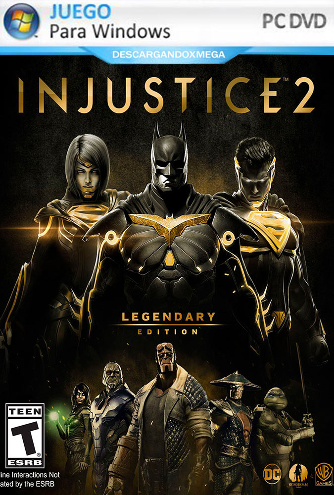 Injustice 2 Legendary Edition PC Español