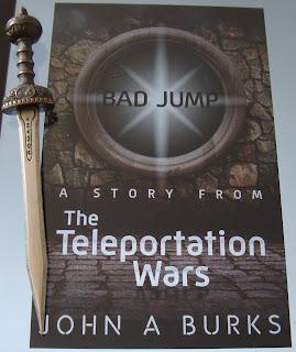 Portada del libro Bad Jump, de John A. Burks