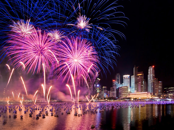 download besplatne pozadine za desktop 1152x864 slike ecard čestitke blagdani Nova godina Singapur vatromet