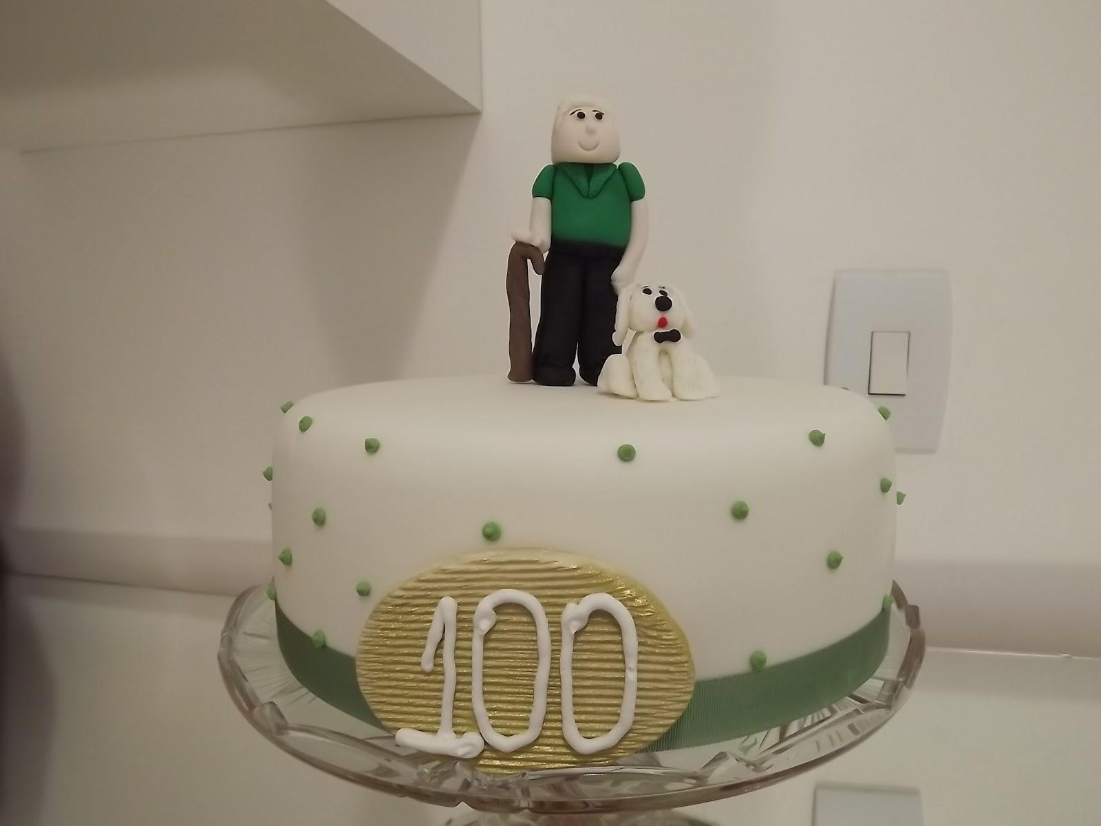 Bolo De 200 Anos: Ana Abelha Doces: Bolo Para Aniversário De 100 Anos
