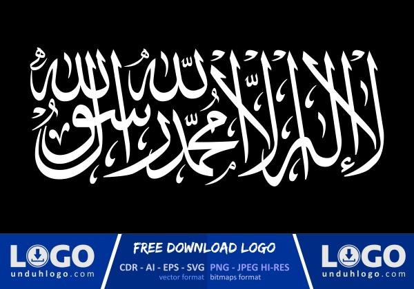 logo kalimat bendera tauhid