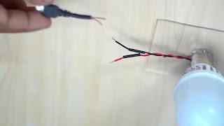 membuat sendiri lampu belajar dari kabel usb otg