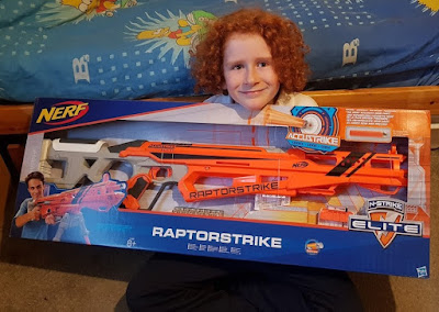 Nerf N-Strike Elite AccuStrike RaptorStrike review for Hasbro