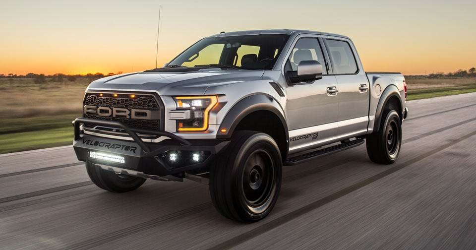 Hennessey Unleashes Its Tuned 2017 F-150 Velociraptor