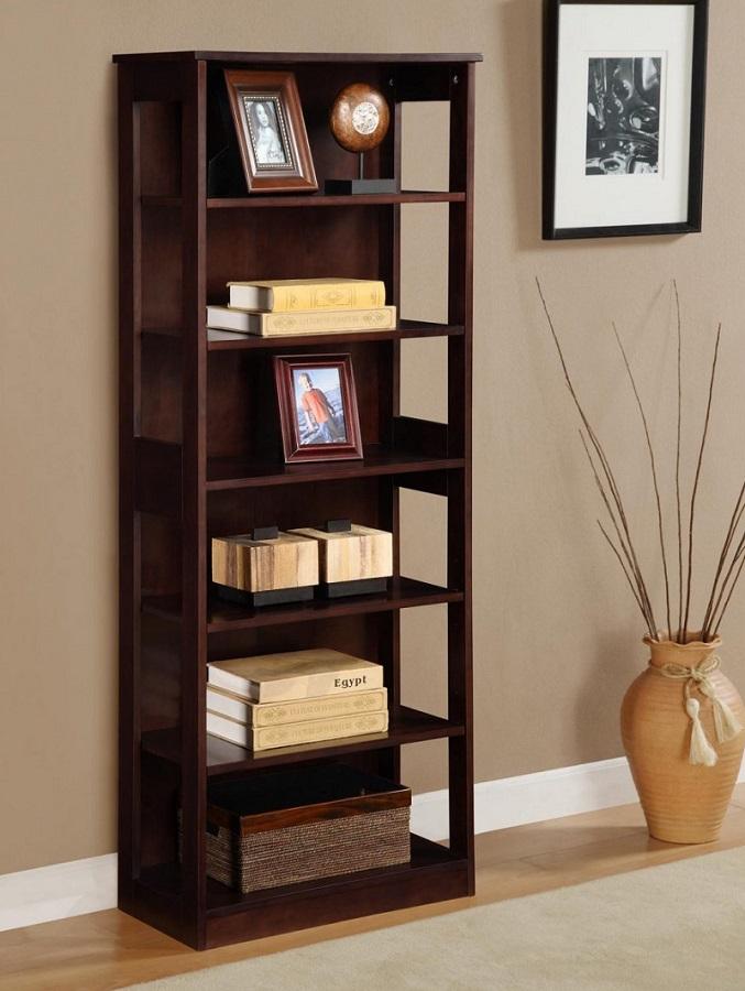 37 gambar desain lemari rak buku minimalis modern dari ...