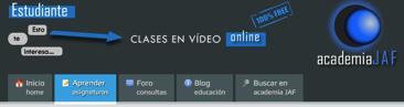 vídeos sintaxis