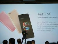 Harga Xiaomi Redmi 5A Resmi di Bawah Rp 1 Juta