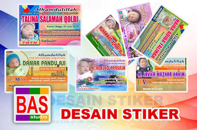 Jasa Desain Stiker