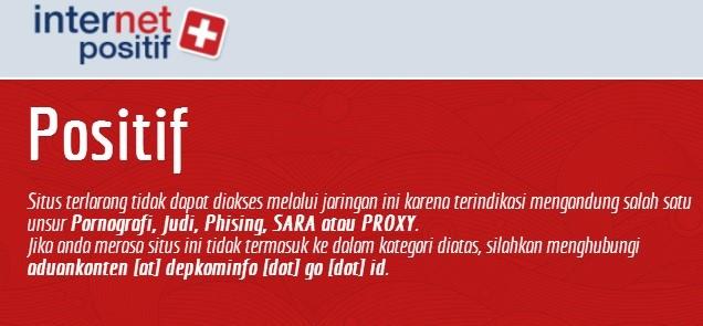 Dinilai Mengandung Konten SARA, 11 Situs Diblokir Kominfo, Ini Daftarnya