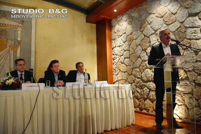 Γ. Μανιάτης: Το Αρχαιολογικό - Περιβαλλοντικό πάρκο Επιδαύρου να γίνει υπόδειγμα για όλη την Ελλάδα