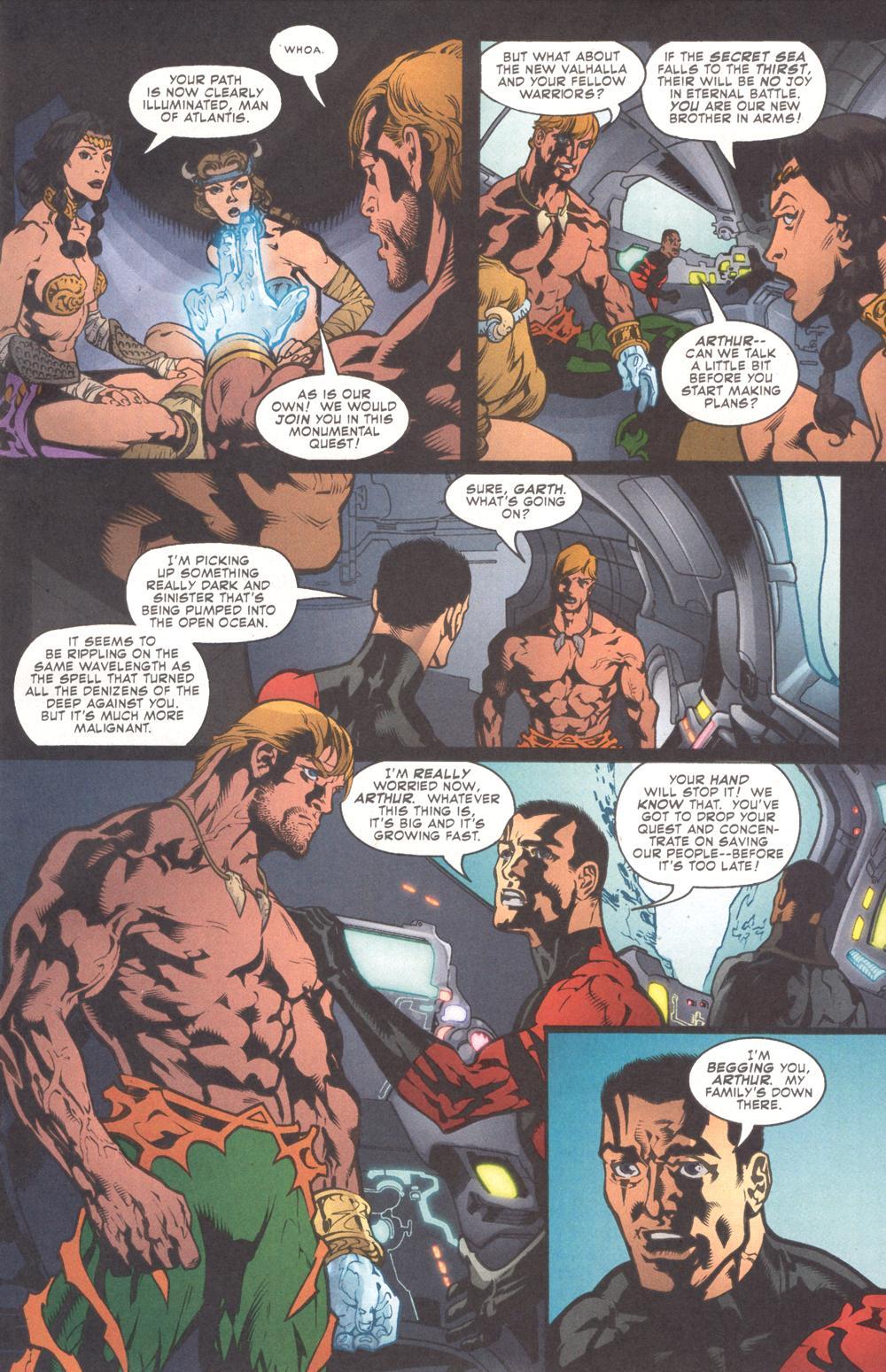 Read online Aquaman (2003) comic -  Issue #9 - 10
