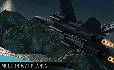 Modern Warplanes v1.1 Apk Terbaru Free Download screenshot 1