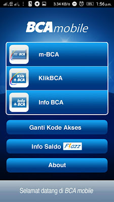 Mobile Internet Banking BCA