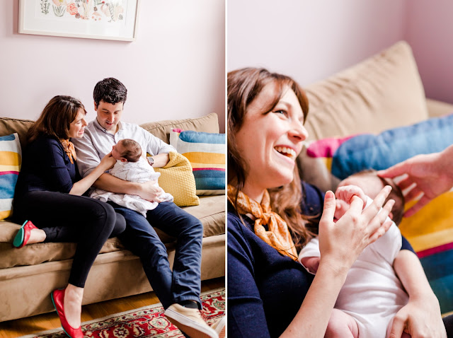 Washington, DC Newborn Photographer in Petworth | Photos by Heather Ryan Photography