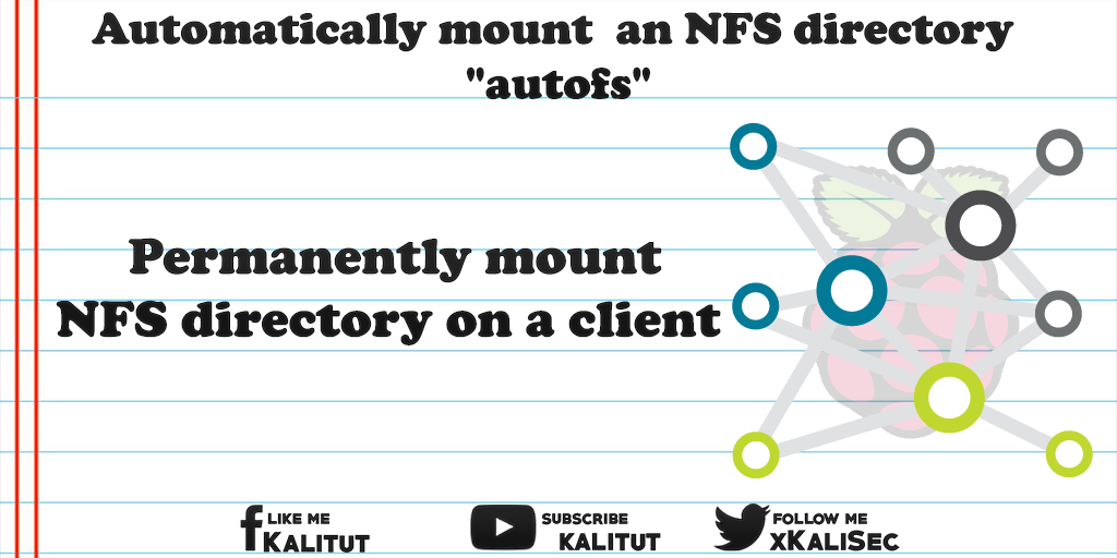 mount an NFS directory with autofs - KaliTut