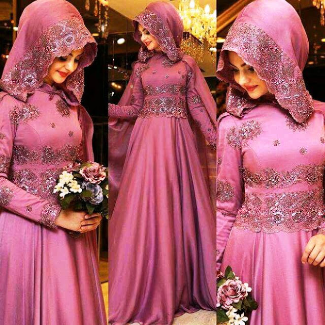 Inspirasi Gaun Muslimah Cantik dan Trendy 2001610