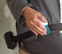 ceinture sécurité pour monte escalier