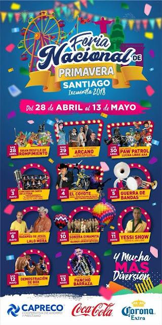 feria Santiago ixcuintla 2018