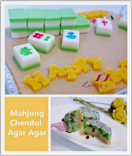 mahjong agar agar chendol jelly luxury haven