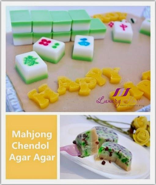 edible mahjong tiles chendol jelly luxury haven