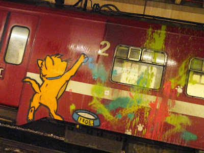 Aristocats graffiti