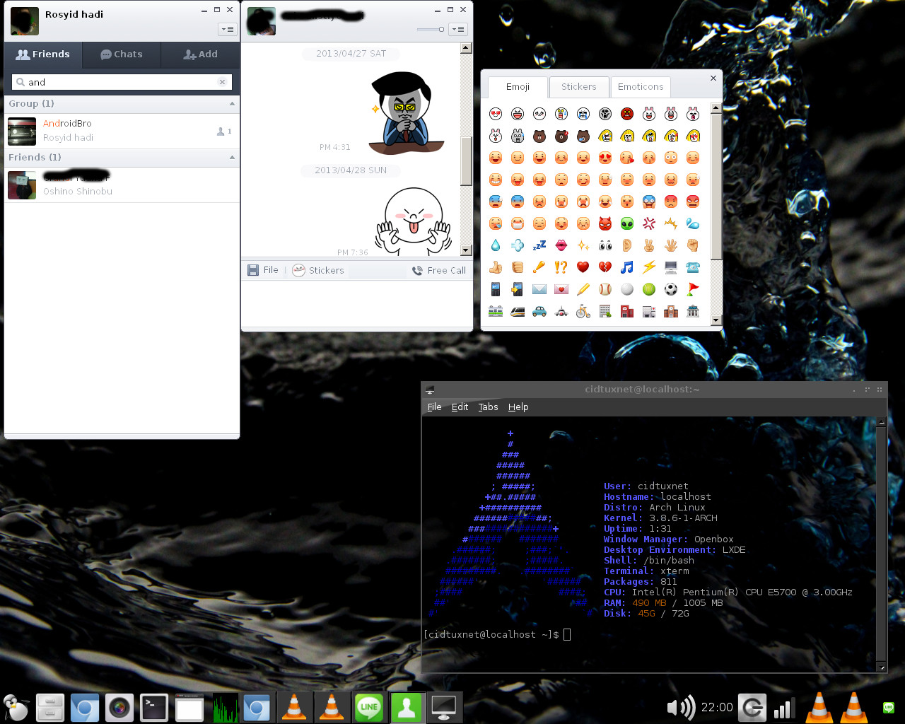 How to Install Naver LINE on Archlinux