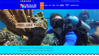 Check out the NEW Dive Bus Curacao website