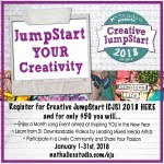Save 5.00 by signing up for Creative Jumpstarts 2018 now!