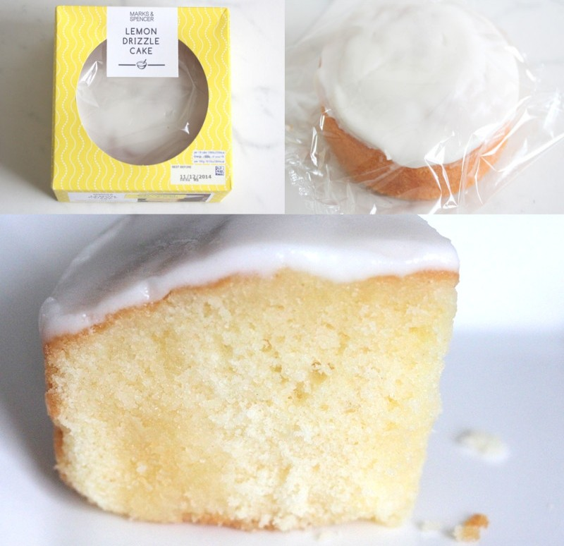 Marks and Spencer lemon drizzle cake