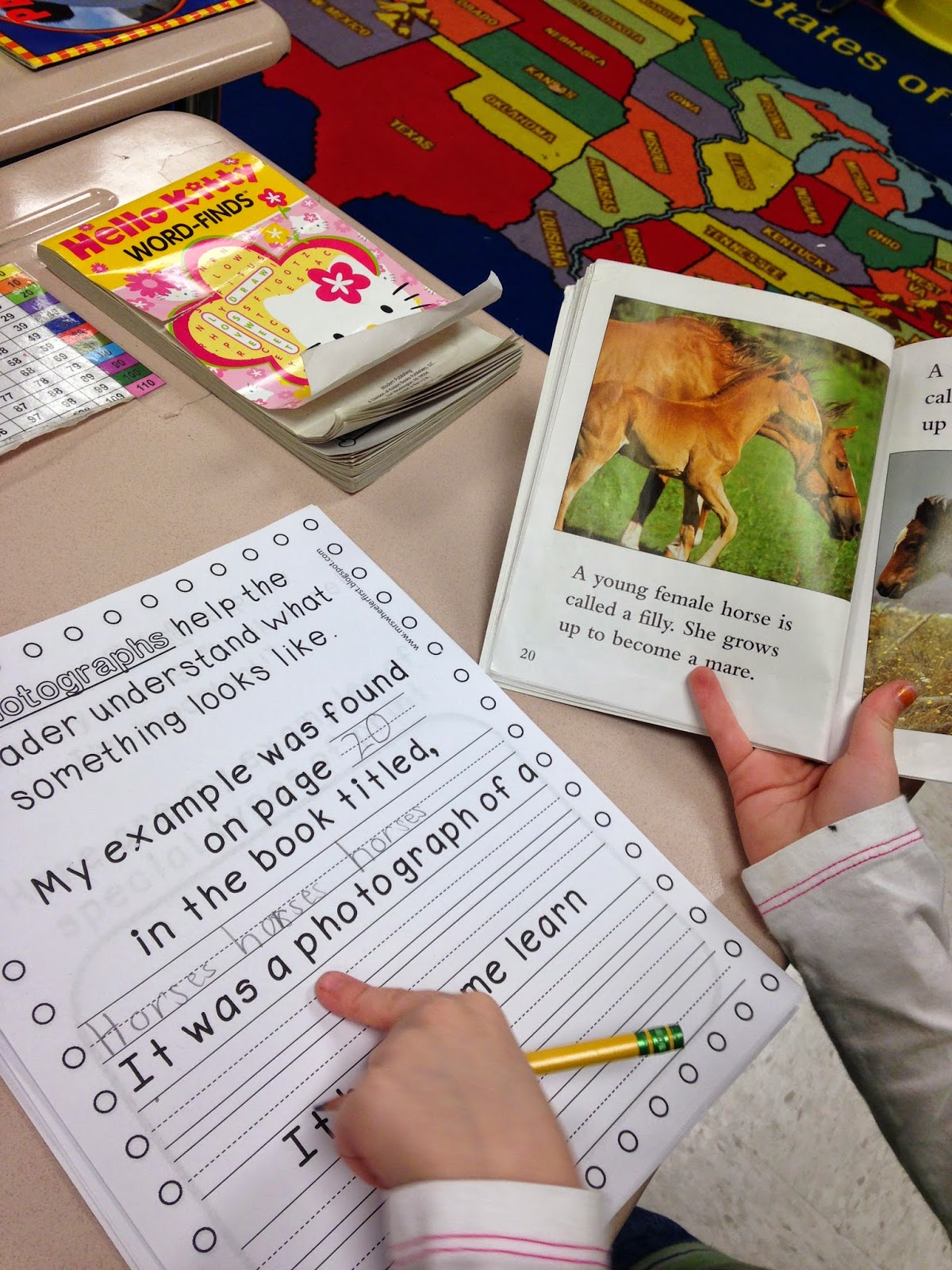 Mrs Wheeler S First Grade Tidbits Nonfiction Text Features