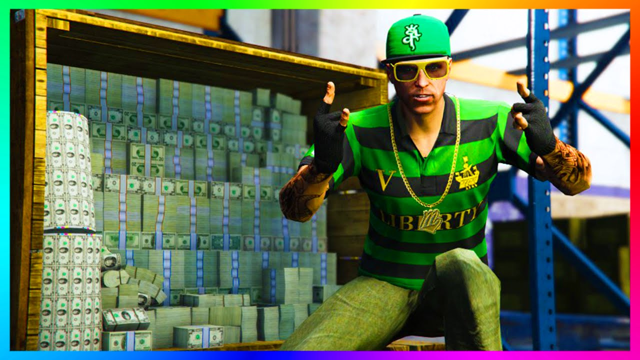 how to get rich in gta 5 online no glitch