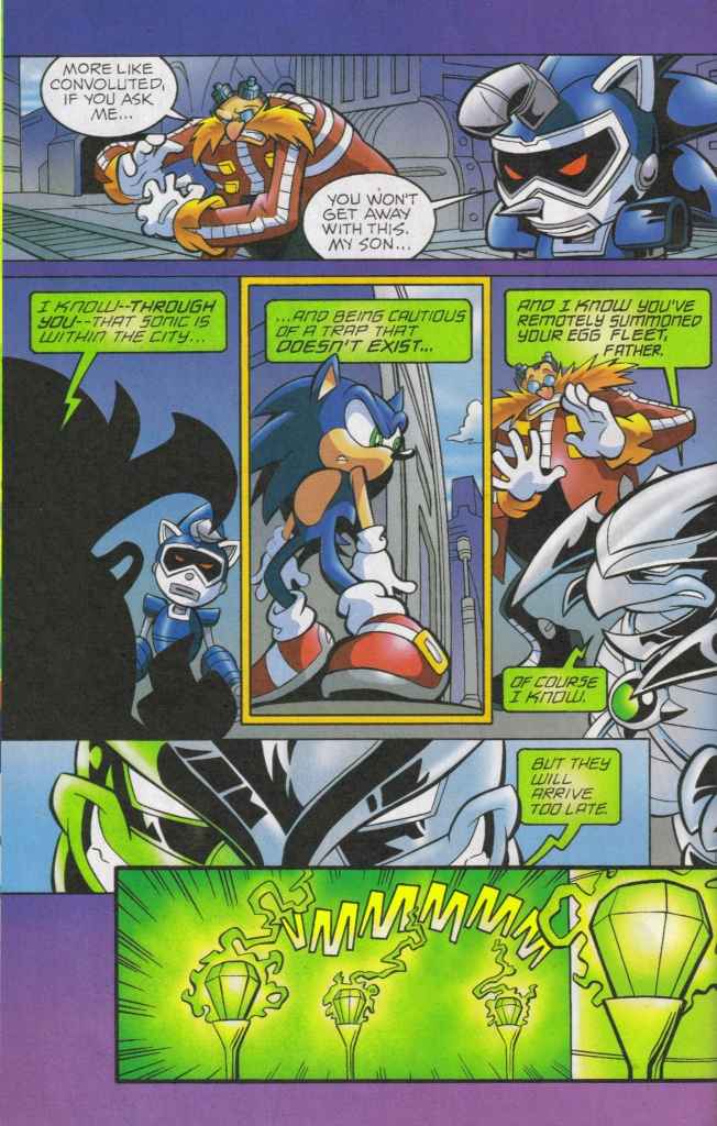 Read online Sonic The Hedgehog comic -  Issue #168 - 32