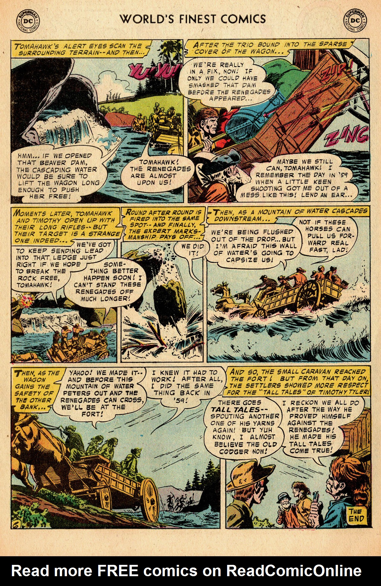 Read online World's Finest Comics comic -  Issue #91 - 33