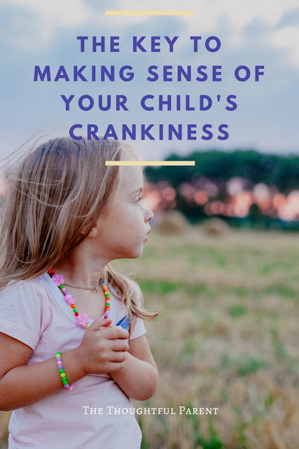 The Key to Making Sense of Your Child's Crankiness