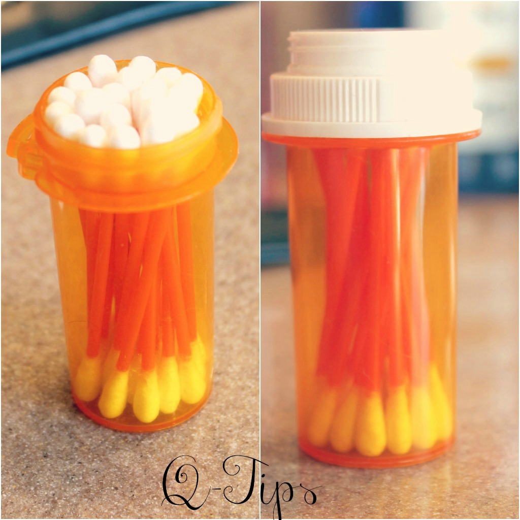 5 39 beautiful ways 39 to reuse an empty pill bottle sweet charli. Black Bedroom Furniture Sets. Home Design Ideas